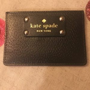 Kate spade card holder - like new !